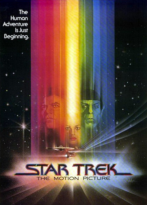 Star Trek: The Motion Picture original cover art.
